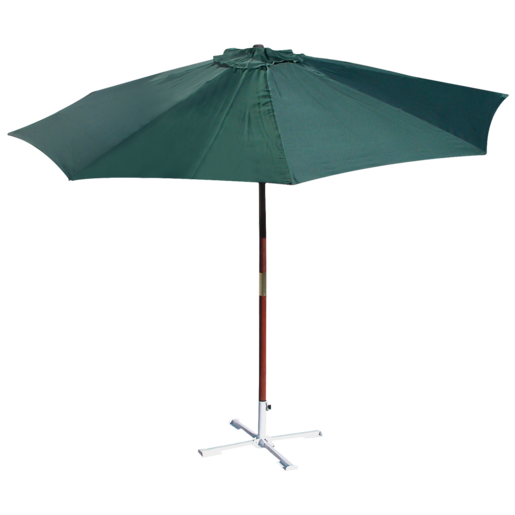 Bush Baby Wooden Market Umbrella 2.7m