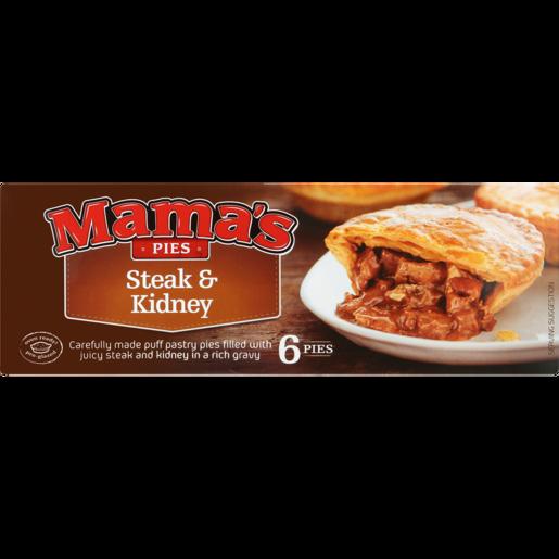 Mama's Pies Frozen Steak & Kidney Pies 6 Pack   Frozen ...