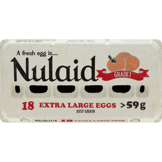 Nulaid Extra Large Eggs 18 Pack