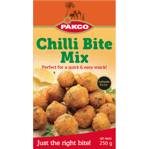Pakco Chilli Bite Mix 250g Pre Mixed Baking Baking Food Cupboard Food Checkers Za