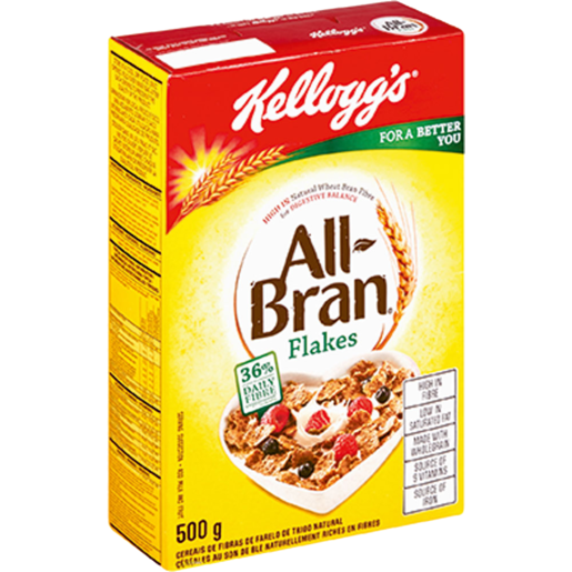 Kellogg's All Bran Flakes Cereal 500g