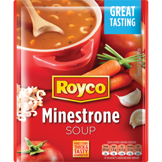 Royco Minestrone Soup Packet 50g