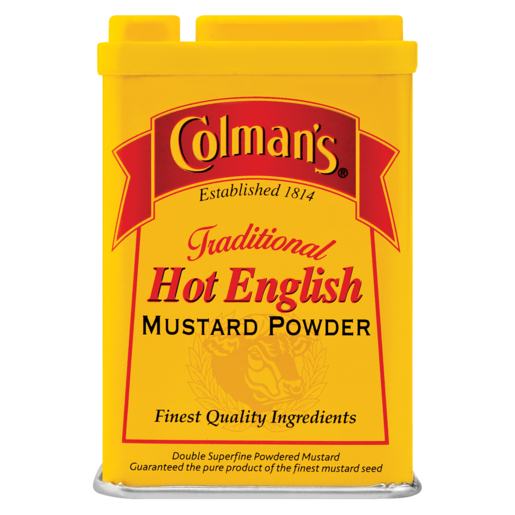 Colman's Traditional Hot English Mustard Powder Can 50g