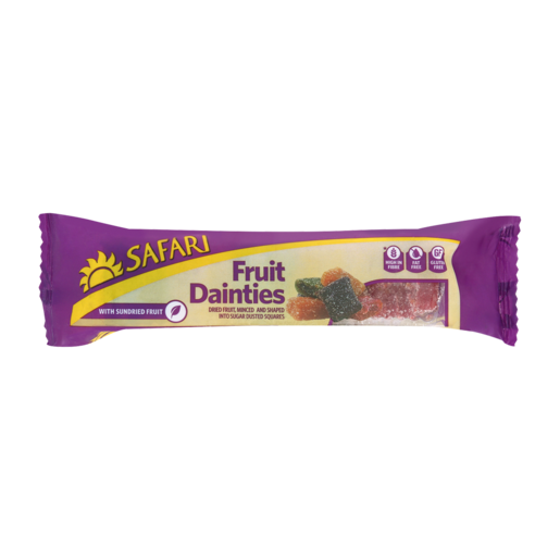 Safari Fruit Dainties With Sundried Fruit 250g