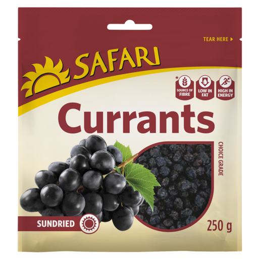 Safari Dried Currants 250g