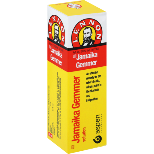 Lennon Jamaica Ginger Medication 20ml
