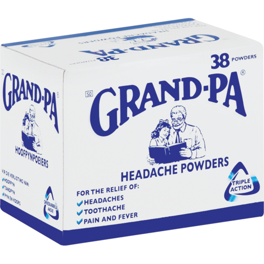 Grand-Pa Triple Action Headache Powder 38 Pack