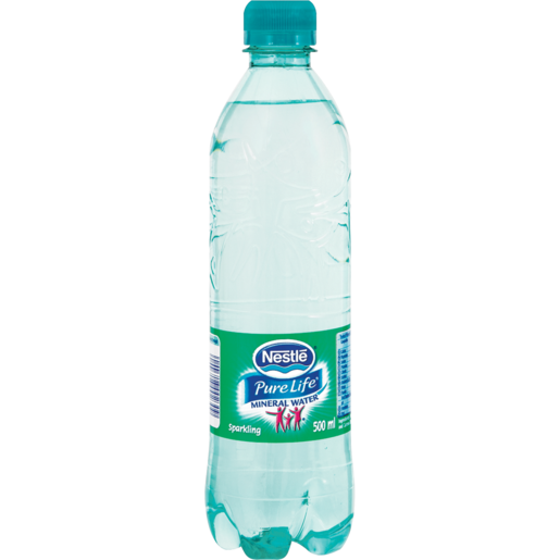 Nestlé Pure Life Sparking Water Bottle 500ml