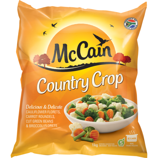 McCain Country Crop Frozen Mixed Vegetables 1kg