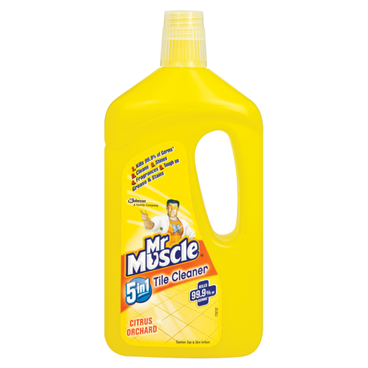 Mr. Muscle 5-In-1 Citrus Orchard Tile Cleaner 750ml