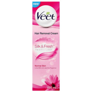 Veet Hair Removal Cream For Normal Skin 100ml Hair Removal