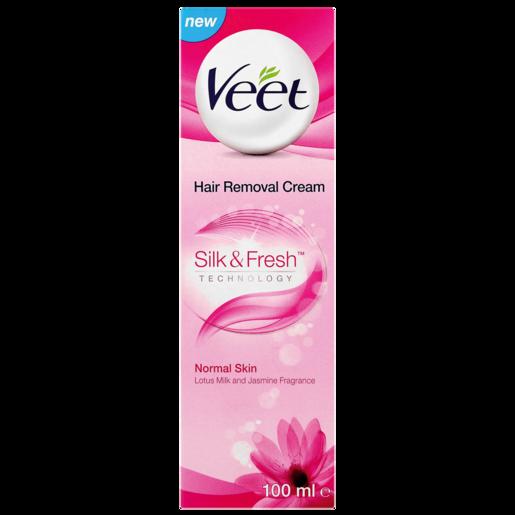 Veet Hair Removal Cream For Normal Skin 100ml Hair Removal