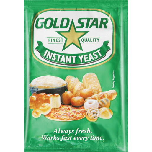 Gold Star Instant Yeast 10g