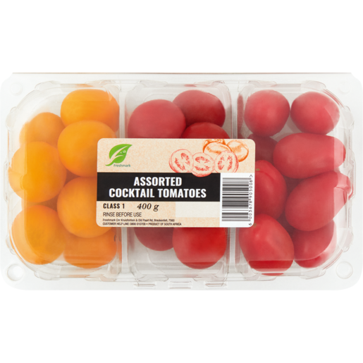 Assorted Cocktail Tomatoes 400g