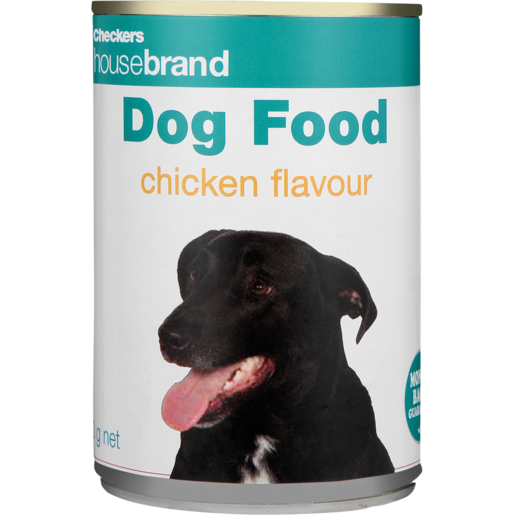 Checkers Housebrand Chicken Dog Food Can 425g