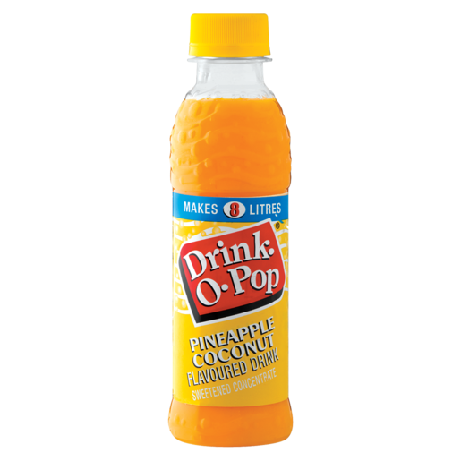 Drink-O-Pop Pineapple Coconut Flavoured Concentrated Drink 200ml