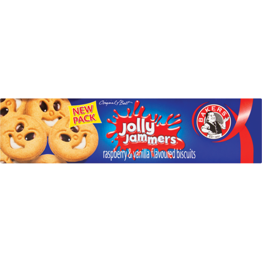 Bakers Jolly Jammers Biscuits 200g