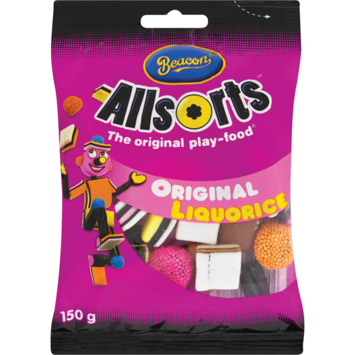 Beacon Allsorts Original Liquorice 150g