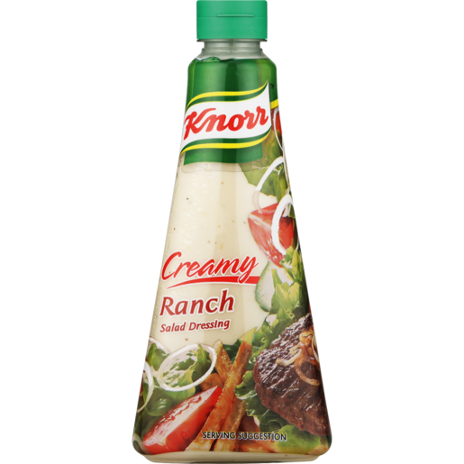 Knorr Creamy Ranch Salad Dressing 340ml