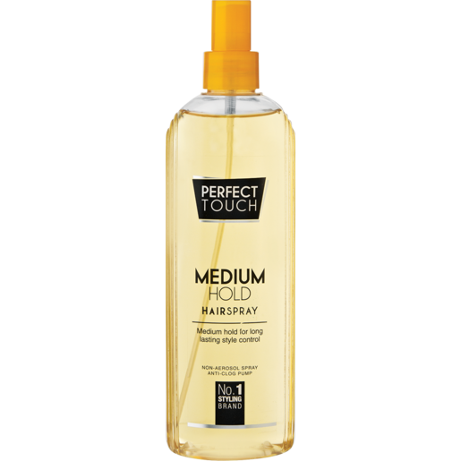 Perfect Touch Medium Hold Hairspray 125ml