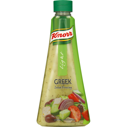 Knorr Light Greek Salad Dressing 340ml