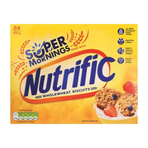 Nutrific Wholewheat Biscuit Cereal 450g