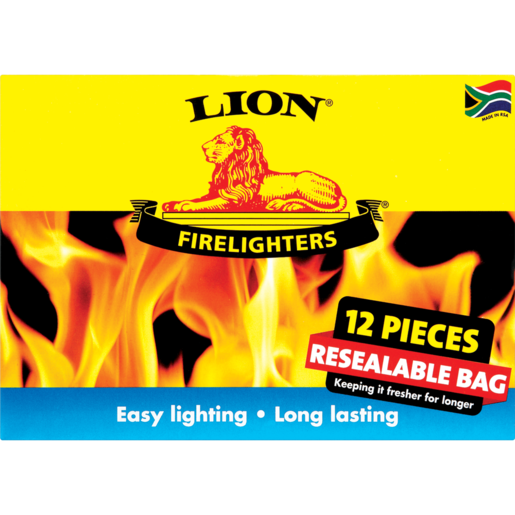 Lion Firelighters 12 Pack