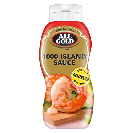All Gold 1000 Island Sauce Squeeze Bottle 500ml
