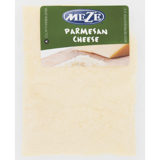 Mezé Grated Parmesan Grated Hard Cheese Sachet 40g