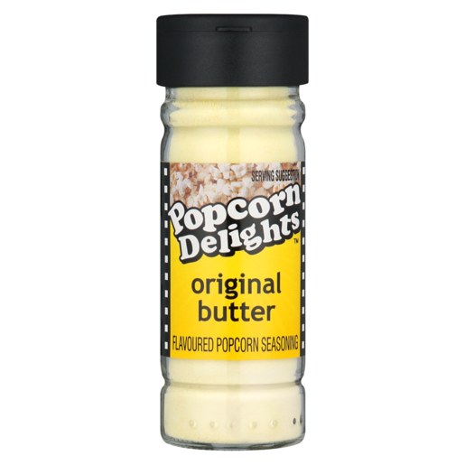 Popcorn Delights Original Butter Popcorn Seasoning 100ml Seasoning Rubs Cooking Ingredients Food Cupboard Food Checkers Za