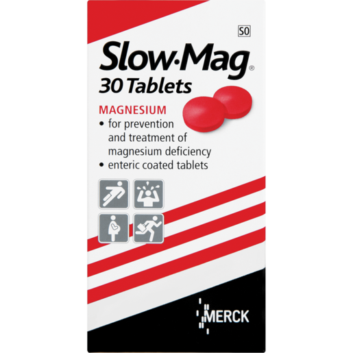 Slow-Mag Magnesium Tablets 30 Pack