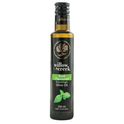 Willow Creek Basil Infused Olive Oil 250ml