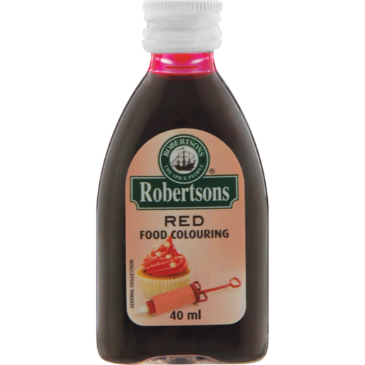 Robertsons Red Food Colouring 40ml