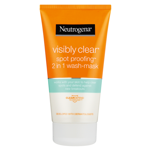 Neutrogena Visibly Clear Spot Proofing 2-in-1 Wash-Mask 150ml