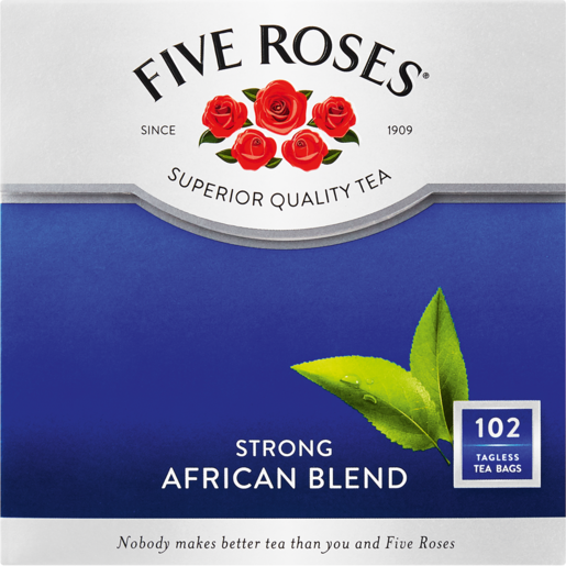 Five Roses Strong African Blend Teabags 102 Pack