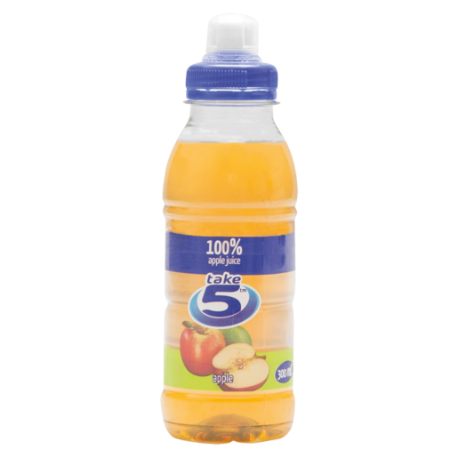 Take 5 Apple Flavoured 100% Fruit Juice 300ml