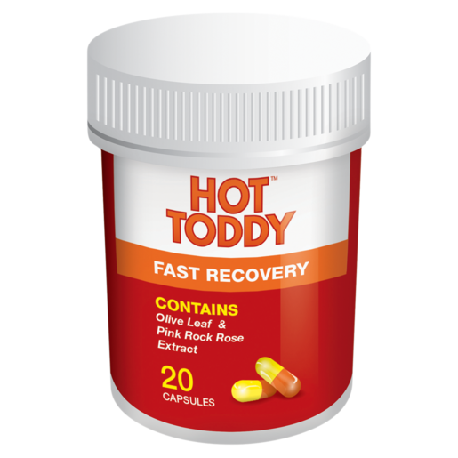 Hot Toddy Cold Flu Capsules 20 Pack
