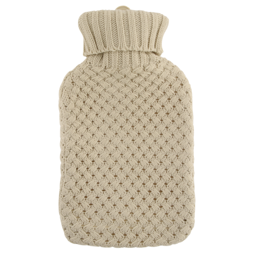 Knitted Hot Water Bottle 2L