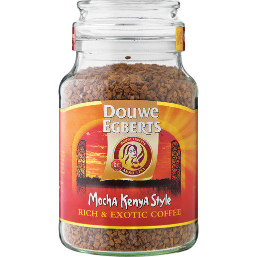 Douwe Egberts Mocha Kenya Style Instant Coffee 200g