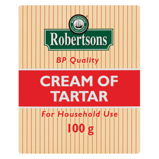 Robertsons Cream Of Tartar Box 100g