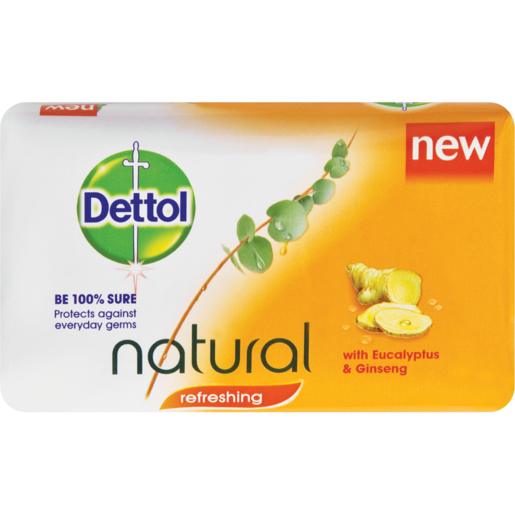 Dettol Refreshing Bath Soap Bar 175g
