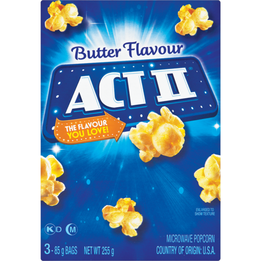 Act Ii Microwave Butter Popcorn Pack 3 X 252g Popcorn Chips Snacks Popcorn Food Cupboard Food Checkers Za