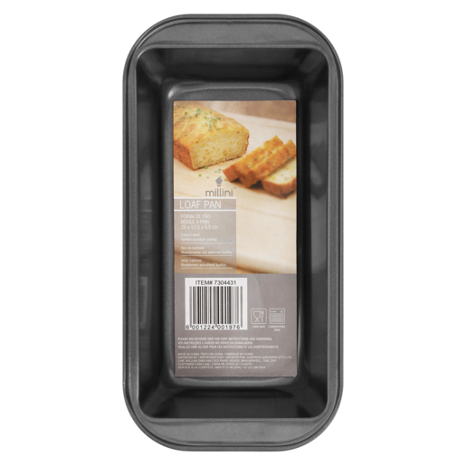 Millini Non-Stick Loaf Pan 65 x 130 x 225mm
