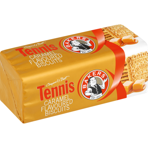 Bakers Red Label Caramel Tennis Biscuits 200g