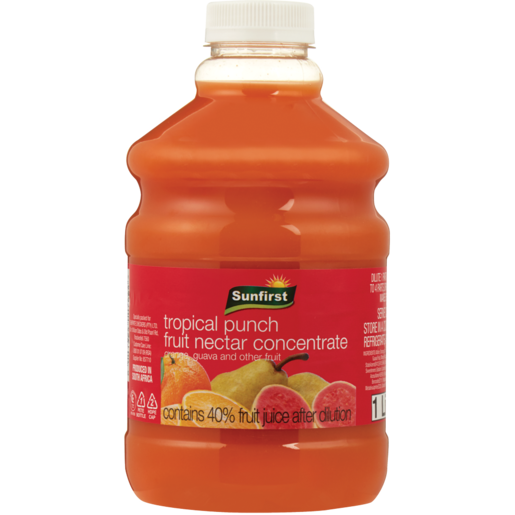 Sunfirst Tropical Punch Concentrated Nectar Blend 1L