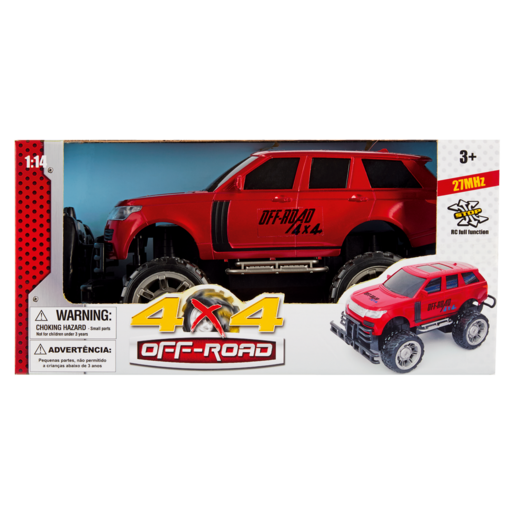 Race Car 4X4 Off Road 1:14 Assorted (Single)
