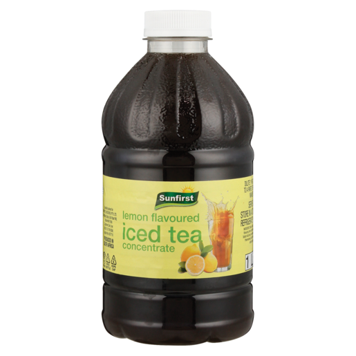 Sunfirst Lemon Flavoured Iced Tea Concentrate 1L