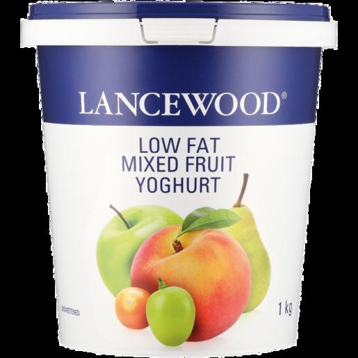 Lancewood Low Fat Mixed Fruit Yoghurt 1kg Fat Free Low Fat Yoghurt Yoghurt Fresh Food Food Checkers Za