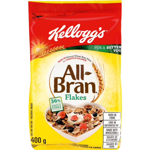 Kellogg's All-Bran Flakes Cereal 400g