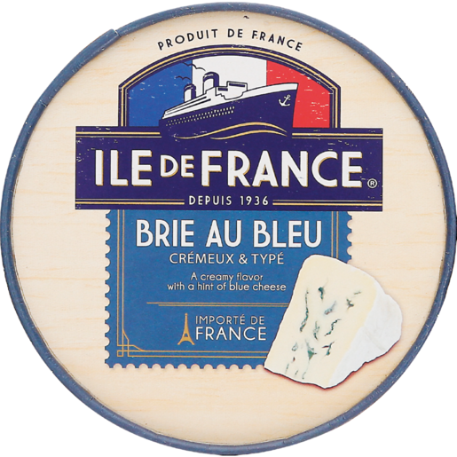 Ile De France Brie Soft Blue Cheese Box 125g